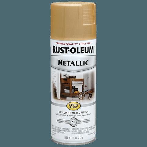 Stops Rust Metallic Spray эмаль антикоррозийная с эффектом металлика