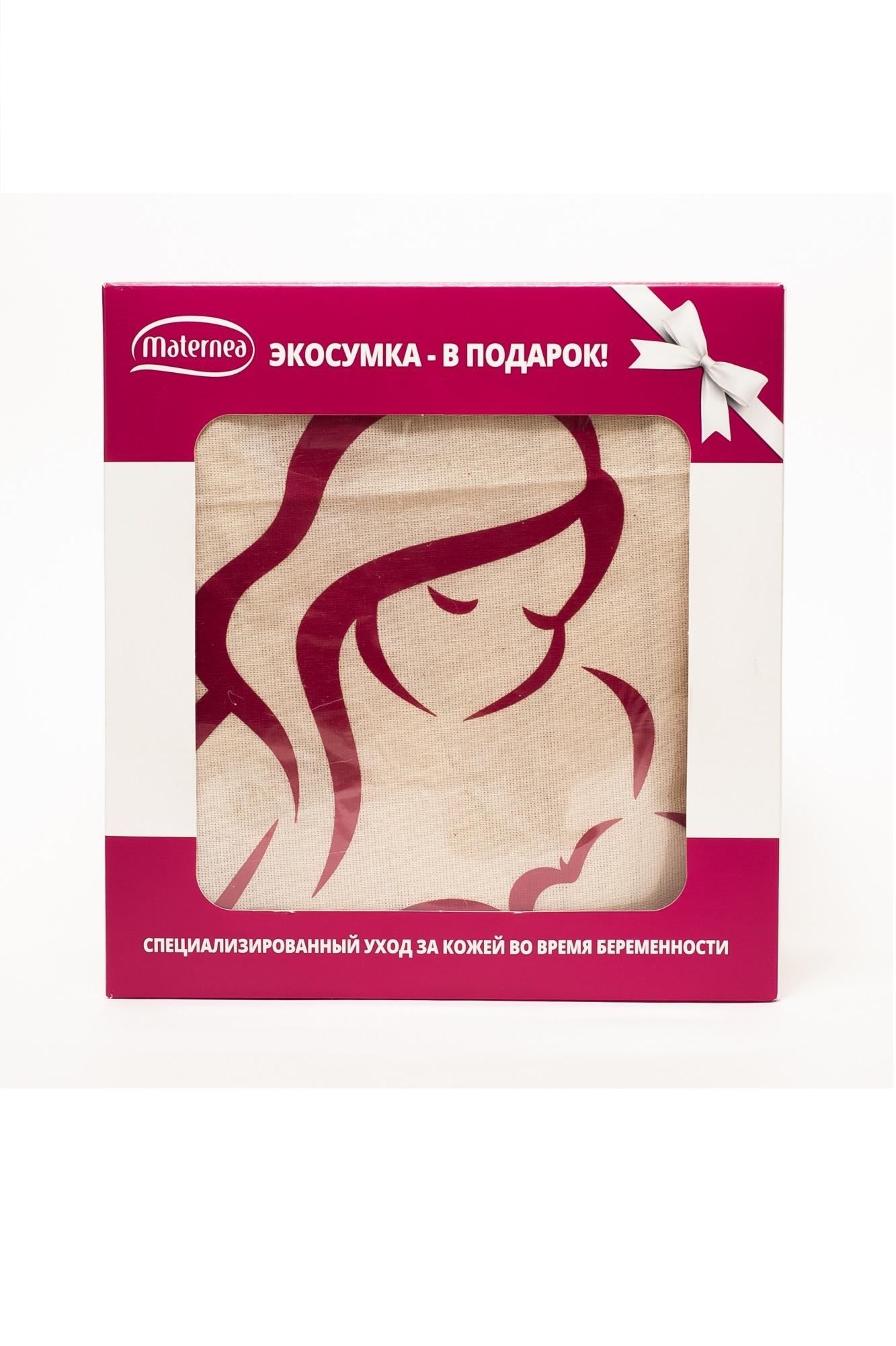 Подарочный набор с экосумкой: Крем от растяжек 150 ml / Масло для душа 210 ml 11150 N/A