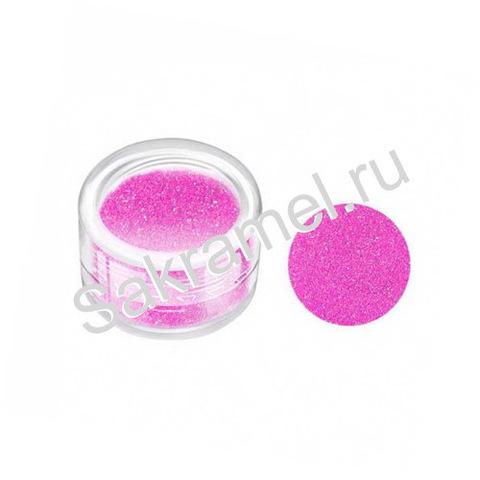 Блёстки в банке 3 гр. мелкие Розовый