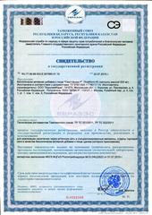 Свидетельство о регистрации Светлформ Р