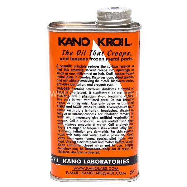 Масло Kano Kroil универсальное с высокой проникающей способностью