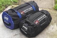Сэндбэг RockyJam L (35-100 кг) черная с резиновыми ручками - 2