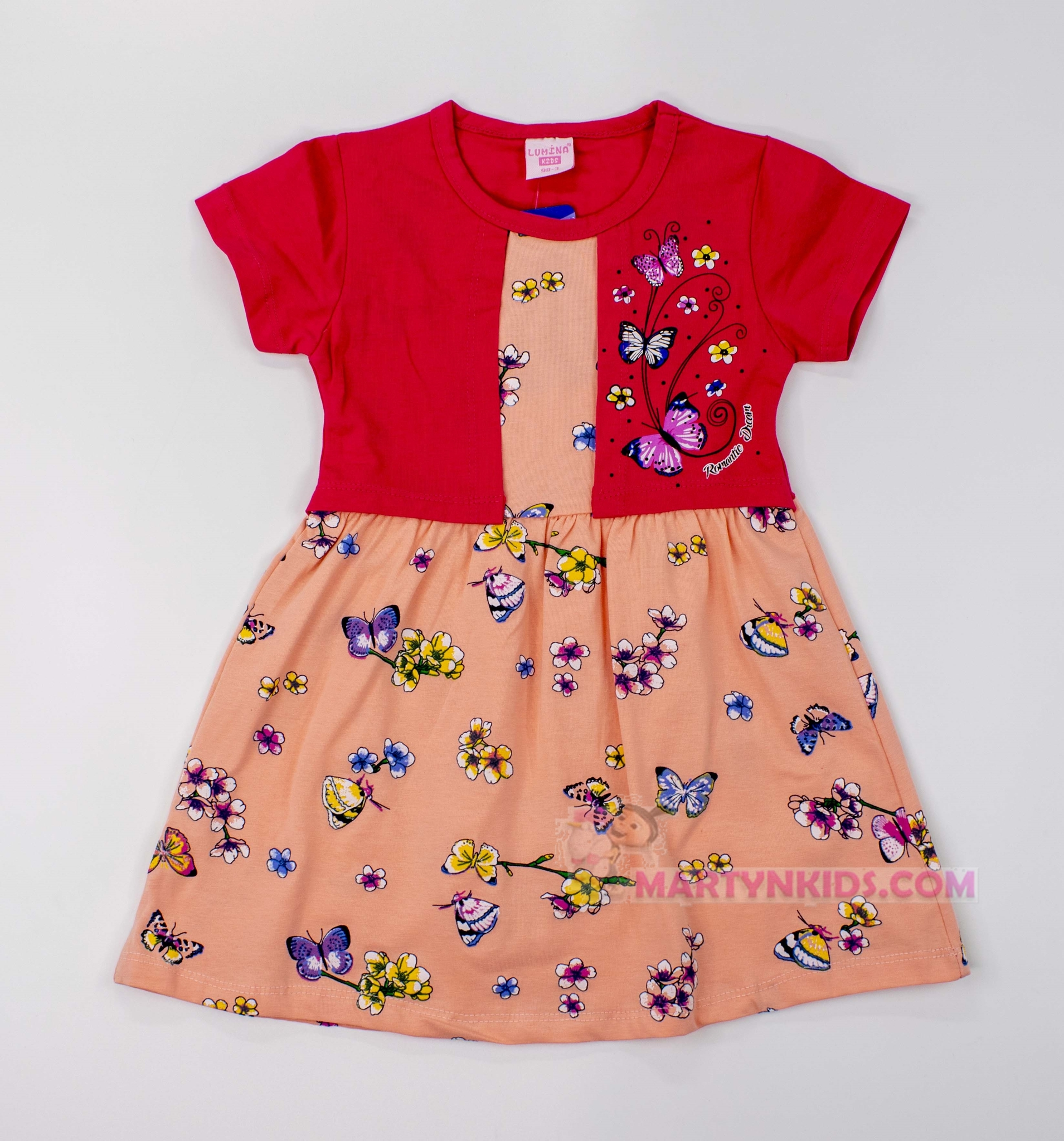 3494 платье Жилетка бабочки