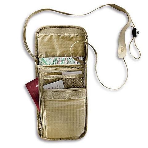 Картинка кошелек нашейный Tatonka Skin Neck Pouch natural - 2