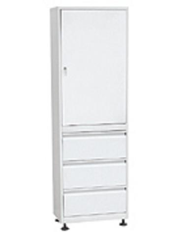 Медицинский шкафШММ-1-Р-3 - фото