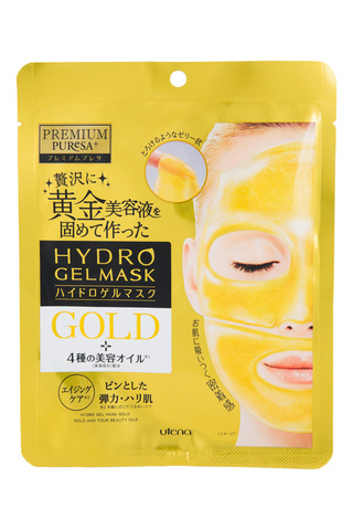 Utena Hydro Gel Mask Gold Гидрогелевая маска