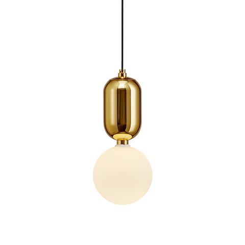 Подвесной светильник Aballs  by Parachilna (золотой, D30)