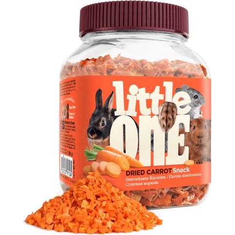 Little One Лакомство для грызунов Сушеная морковь 200г