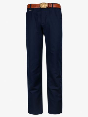 Мужские слаксы тёмно-синего цвета