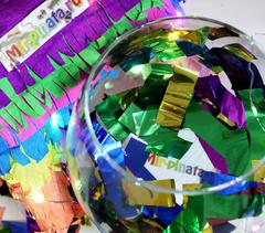 Металлизированное конфетти мир-пиньята