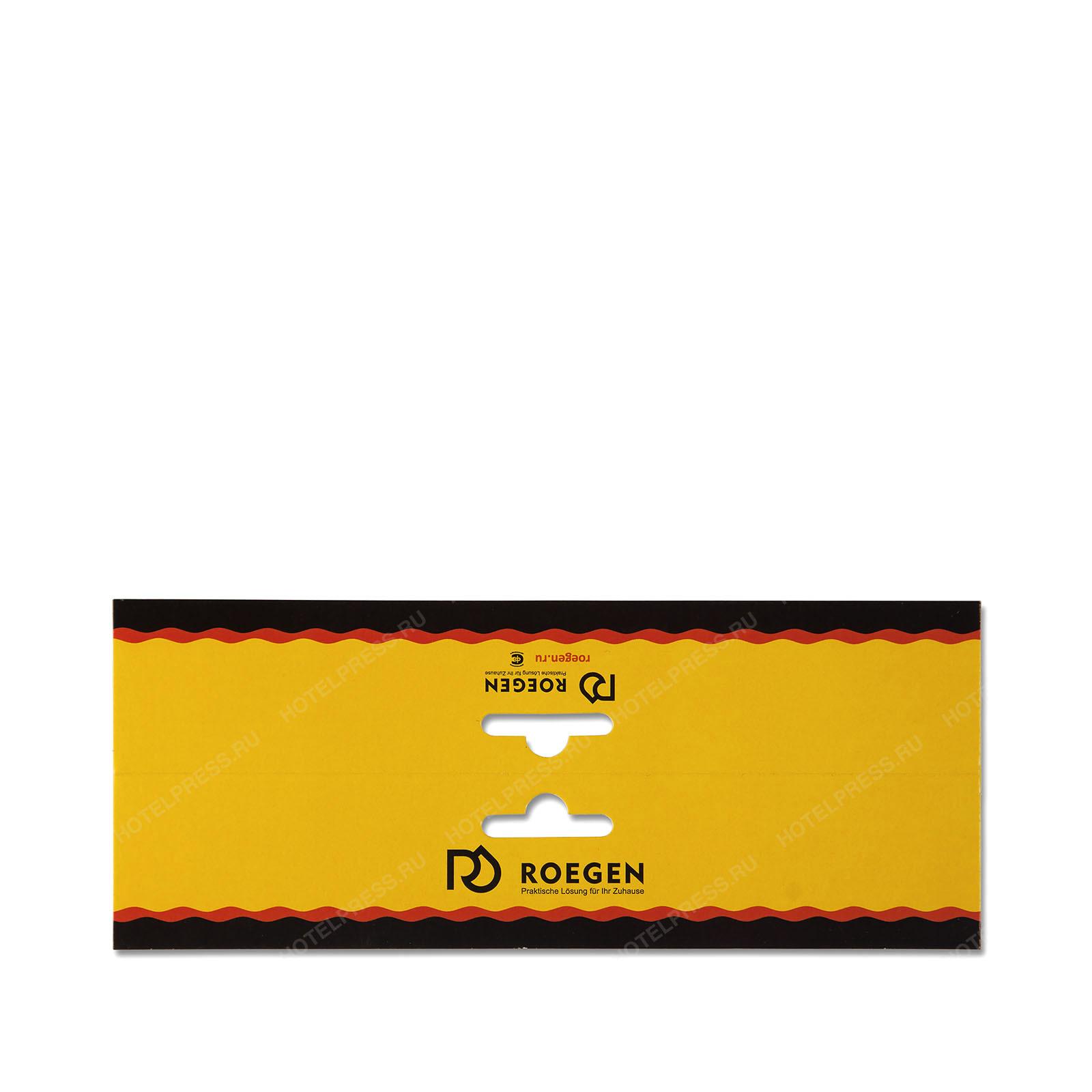 Картонная упаковка с европодвесом для крепления к пакету с продукцией