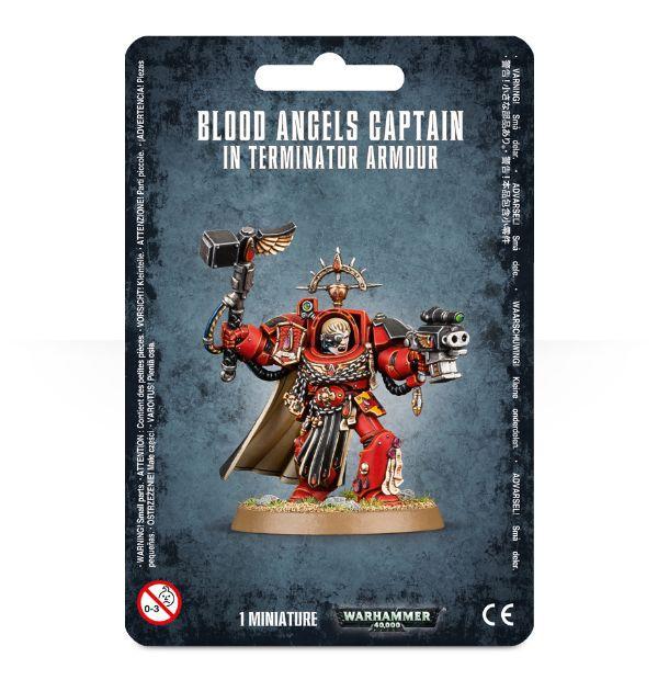 Blood Angels Captain In Terminator Armour. Упаковка