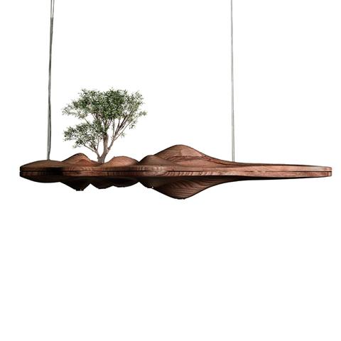 Подвесной светильник UFO by Light Room L120 (темное дерево)