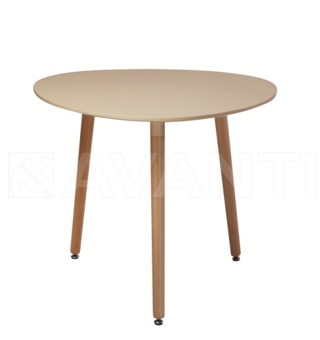 Стол обеденный SIRIO (D900x740) TAUPE (таупе)