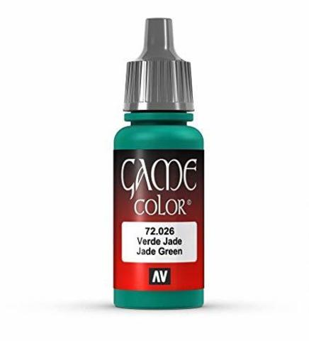Game Color Jade Green 17 ml.