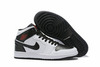 Air Jordan 1 Mid 'Black/White'