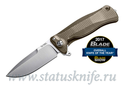 Нож Lion Steel SR11 Titanium Brown