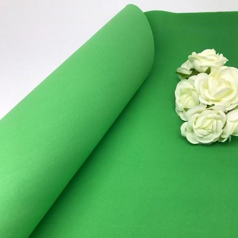 Фоамиран зефирный. Цвет: Зеленый 030