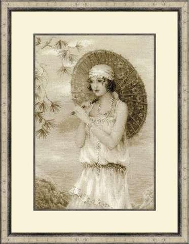 Набор для вышивания крестом «Старая фотография. Ривьера» (1434)