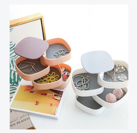 Шкатулка органайзер для бижутерии Rotating Jewelry Organizer