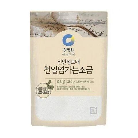Морская соль мелкий помол Daesang, 280 г