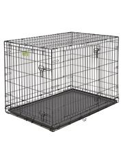 Клетка MidWest iCrate 106х71х76h см 2 двери черная