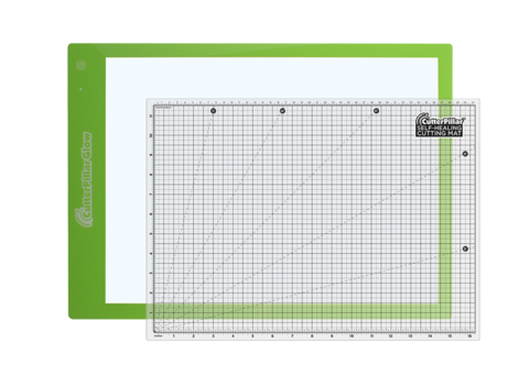 Коврик для творчества 35 х 50 см с LED-подсветкой CutterPillar Glow