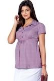 Рубашка для беременных 01395 красный