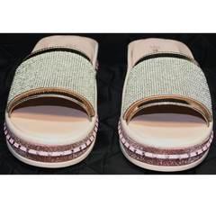 Розовые шлепки женские Kluchini 5259T189 SR.