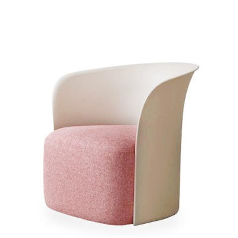 Дизайнерское кресло Capsule by Light Room (розовый)