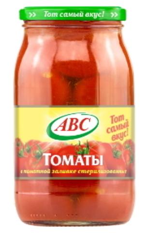 Томаты в томатной заливке 880г. АВС