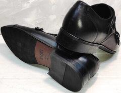 Мужские черные туфли под брюки Ikoc 2205-1 BLC.