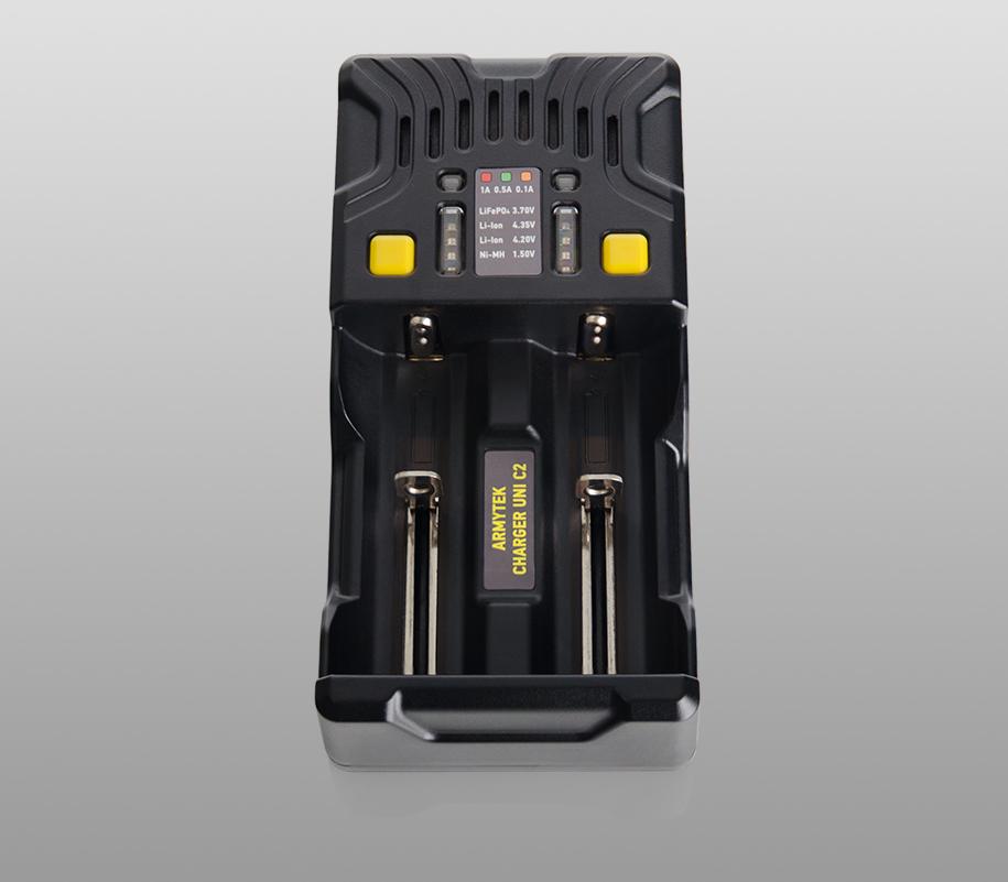 Универсальное зарядное устройство Armytek Uni C2 - фото 2