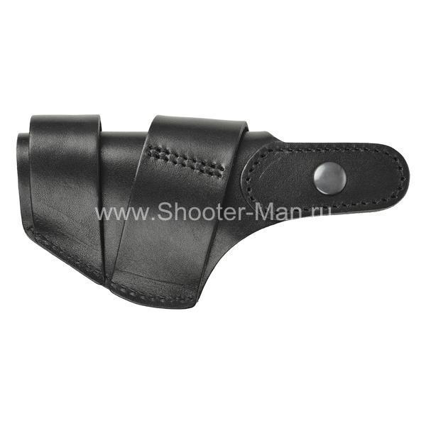 Кожаная кобура на пистолет Хорхе 1 для водителей ТРАССА ( модель № 9 )