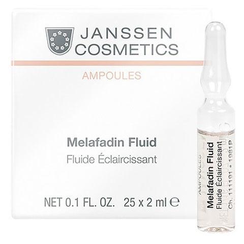 Janssen Ampoules: Осветляющие ампулы для лица (Mela-Fadin)