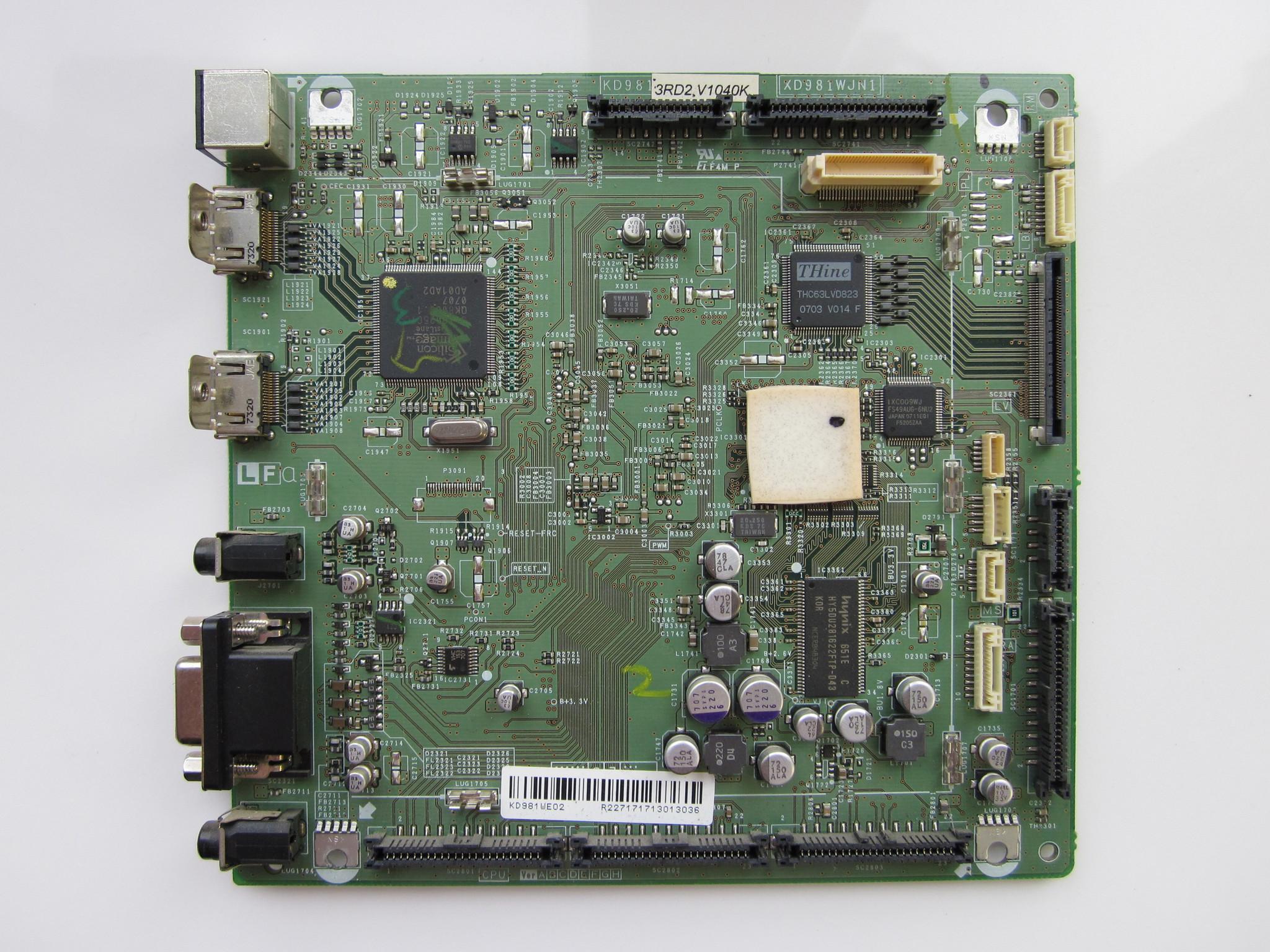 Плата XD981WJN1 (SSB-модуль)
