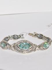 Виктория (кольцо + серьги из серебра)