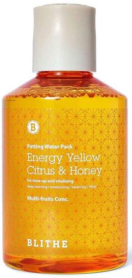 BLITHE Patting Splash Mask Energy Yellow & Honey сплеш–маска для лица с медом 150мл