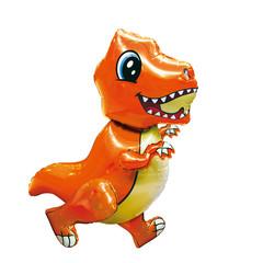 К Ходячая Фигура, Маленький динозавр, Оранжевый, 30''/76 см, 1 шт.