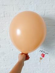 Персиковый воздушный шар