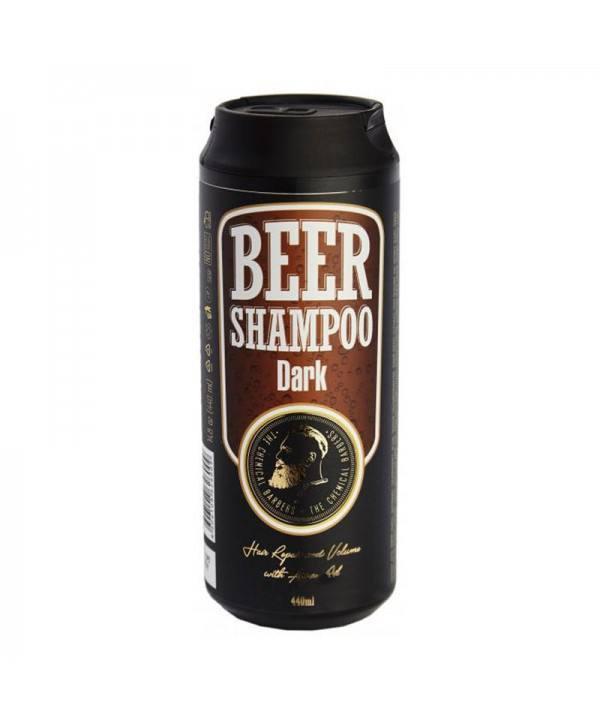 Шампунь CHEMICAL BARBERS Beer Shampoo Dark с аргановым маслом 440 мл