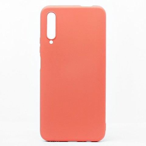 Чехол для Huawei P Smart Pro/9X Pro/Y9s Софт тач мягкий эффект   микрофибра светло-оранжевый