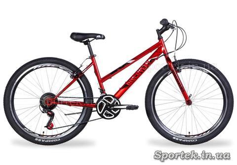 Городской женский велосипед Discovery Passion 2021 - красный
