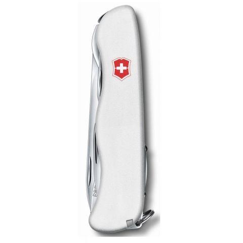 Нож перочинный Victorinox Outrider (0.8513.7R) 111мм 14функций белый