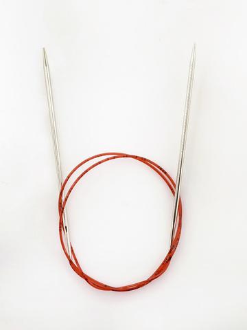 Круговые спицы Addi с удлиненным кончиком 100 см