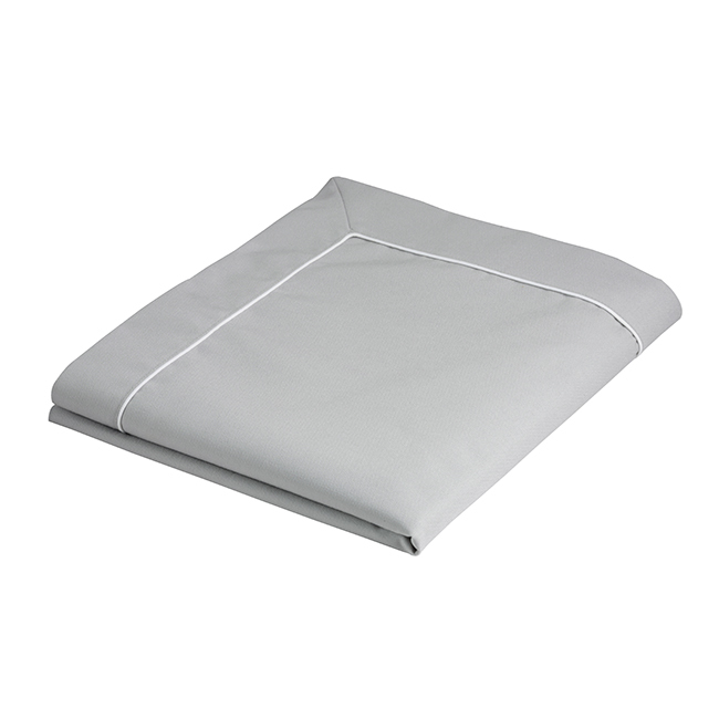 TABLECLOTH 115×100 LIGHT GREY, WATERPROOF