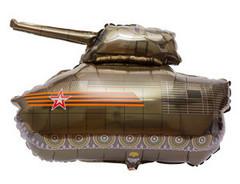 F Танк коричнево-зеленый, 80 см*75 см, 1 шт.