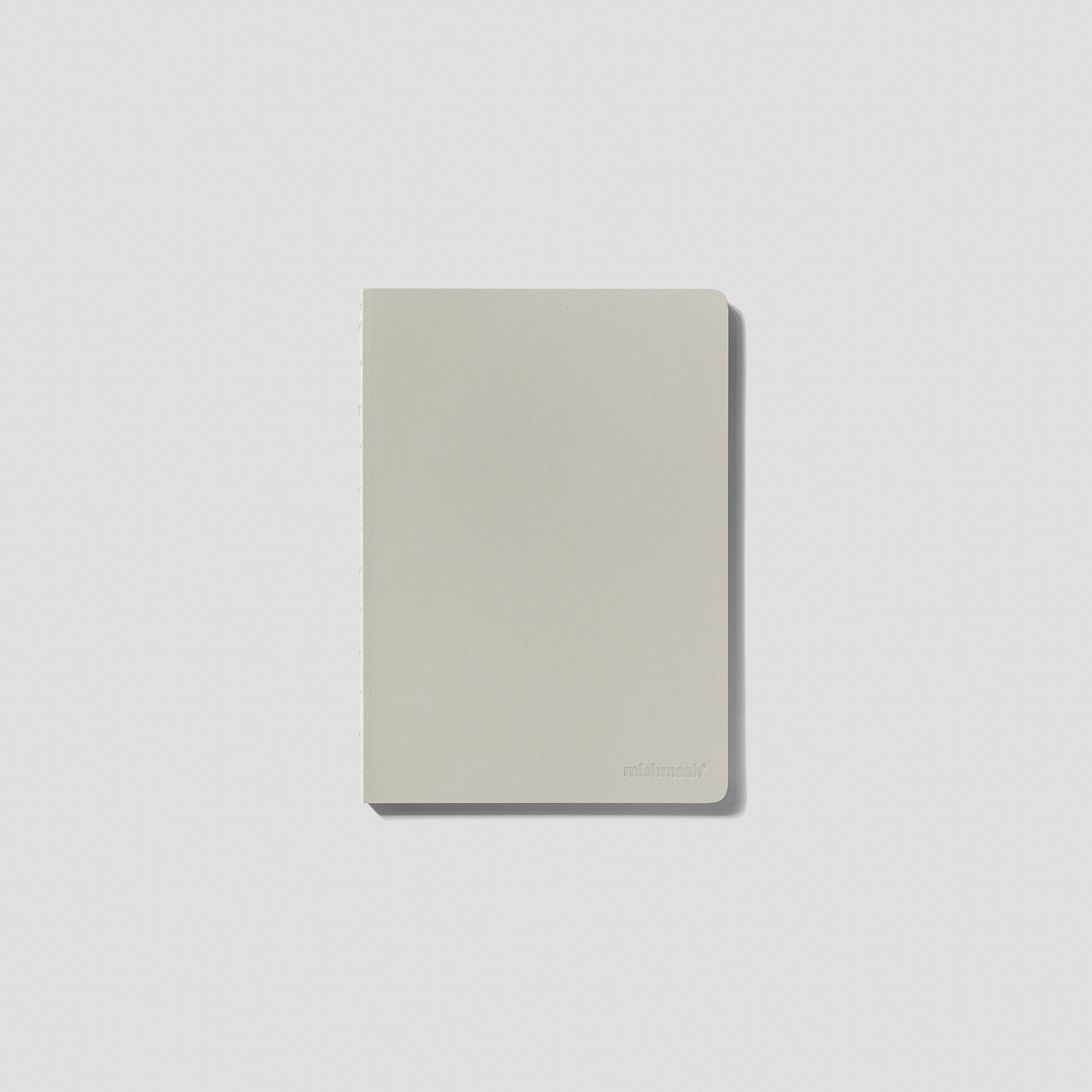 Mishmash  Лаконичный блокнот Naked Grey