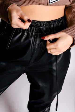 Кожаные штаны со шнуровкой интернет магазин