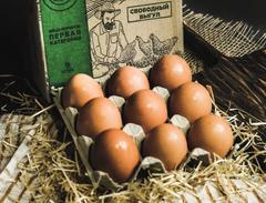 """Яйцо куриное, фермерское, """"Рождествено"""""""